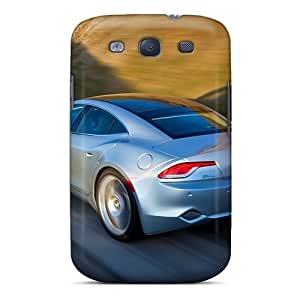 Fashionable Style Case Cover Skin For Galaxy S3- Silver Fisker Karma