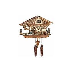 Trenkle Quartz Cuckoo Clock Swiss house with music TU 481 QM HZZG