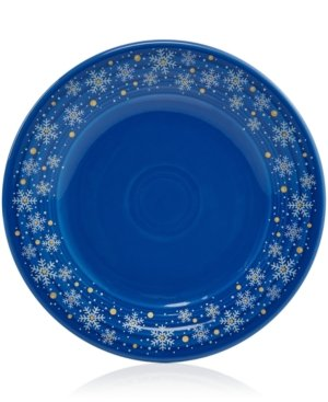 Fiesta Macy's Exclusive Snowflake Luncheon Plate