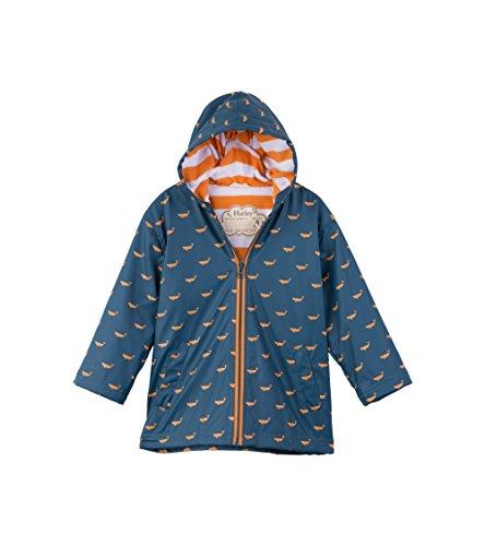 Hatley Boys' Big Splash Jacket, Tiny Whales, 10