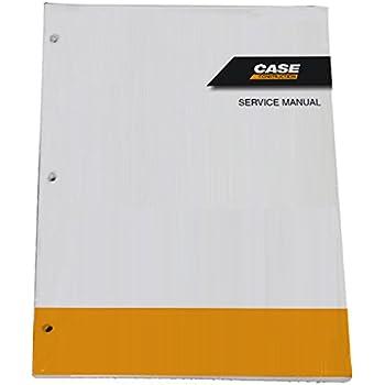 Amazon com: Case 580K Phase 3 Loader Backhoe Workshop Repair