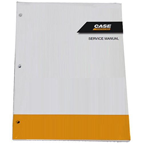Case CX31B,CX36B Tier 4 Crawler Excavator Workshop Repair Service Manual - Part Number # S5PW0028E01EN-US by Case