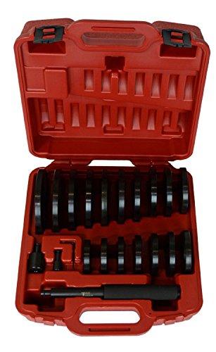 T & E Tools JUMBO Bushing/Bearing/Seal Driver - 19-Pc. Set, Model# TE9013 by T&E Tools