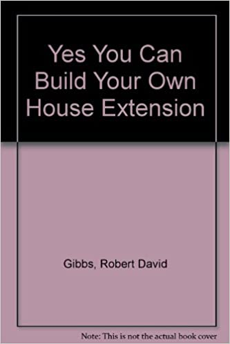 yes you can build your own house extension amazon co uk robert