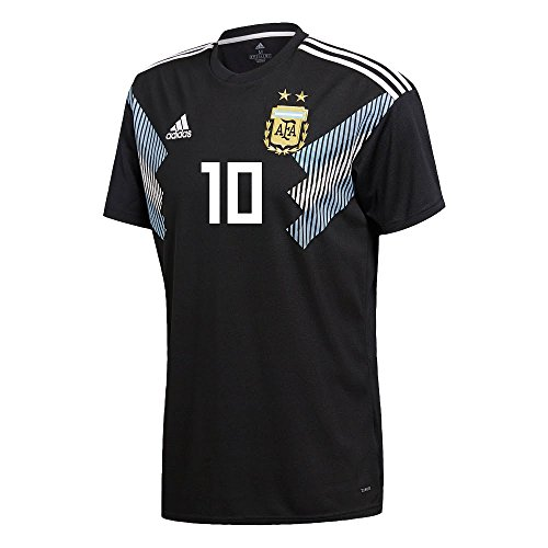 adidas Argentina Away Messi 10 Jersey 2018/2019 (Official Printing) - ()