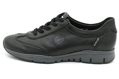 Noir Mephisto ville pour Yael de lacets femme Chaussures à 8184rx