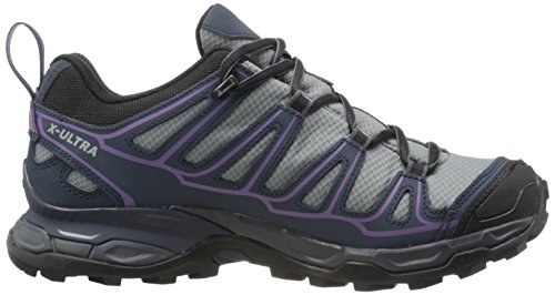 de Rain Senderismo Gris Purple para Grey Mujer L38158500 Pearl Deep Blue Salomon Zapatillas ZxwPq1EW