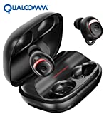 Wireless : Bluetooth Earbuds Wireless Earbuds Bluetooth Earphones Wireless Headphones, OFUSHO Bluetooth 5.0 Deep Bass 152H Playtime IPX7 Waterproof TWS Stereo in-Ear Headphones with Charging Case, CVC8.0 Apt-X