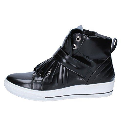 Pelle Albano Sneaker Nero Albano Sneaker Pelle Donna Nero Donna Albano wfOCtIPx