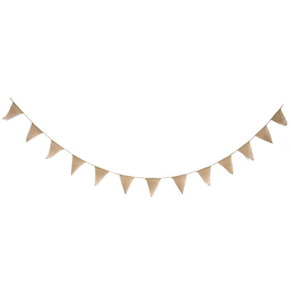 Romote Banderines de yardas vintage para boda decoraci/ón de fiesta de boda