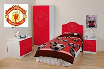 Manchester United F C Ensemble Complet De Meubles De Chambre