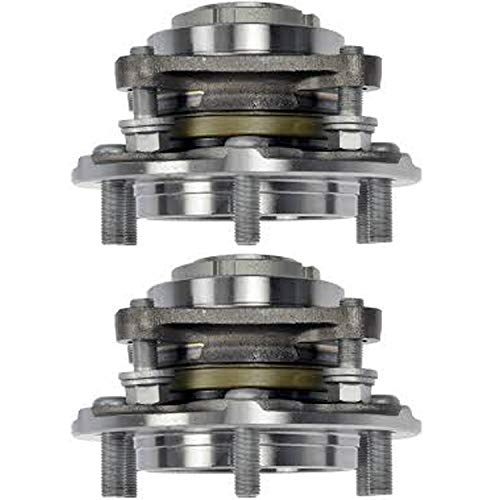 2008 Toyota Tacoma Prerunner - Detroit Axle - Both (2) Front Wheel Bearing & Hub Assembly for 2WD ONLY - 2010-2016 Toyota 4Runner - [2007-2009 Toyota FJ Cruiser] - 2005-2015 Toyota Tacoma PreRunner