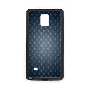Samsung Galaxy Note 4 Case, fancy damask Case for Samsung Galaxy Note 4 Black