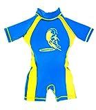 Boys Blue%2Fyellow Floating Swimsuit Sun