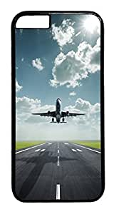 iphone 6 plus 5.5inch Cases & Covers Amazing Lifting Off Airplane Custom PC Hard Case Cover for iphone 6 plus black