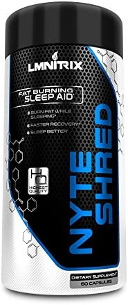 NyteShred Natural Supplement Guaranteed Capsules