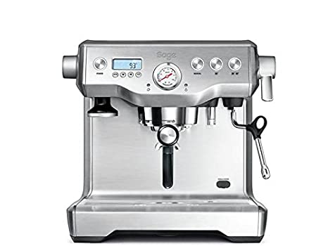 Sage Appliances Máquina de café espresso Ohne Mahlwerk Brusched Steel: Amazon.es: Hogar