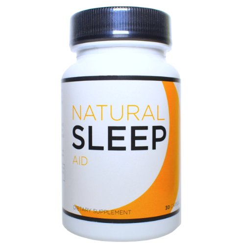 100% Natural SLEEP Aid, 30 Capsules (Fall Asleep Fast with Melatonin, Herbal Extracts, and Amino Acids)