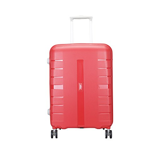 VIP Voyager 67 cms Polypropylene Red Hardsided Check in Luggage  VIP VoyagerSTROLLY 67 360° FIR
