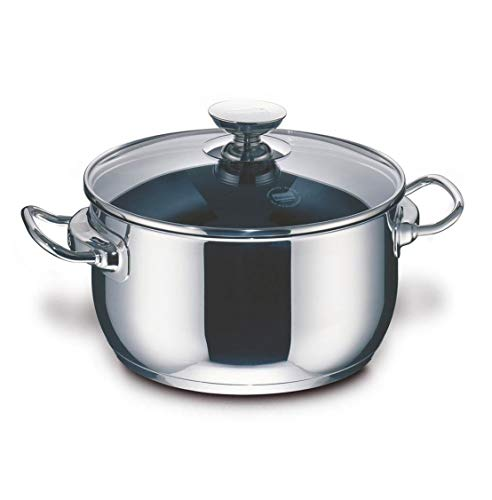 Berndes 9.1 Quart Injoy Stainless Steel Stockpot with Temper