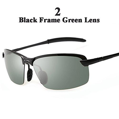 Sol hombre de 2 cuadro sol Oculos con sol Gafas el multicolor Hombre la el Guía tonos 1 de de polarizadas de TIANLIANG04 por gafas XSg4nx1