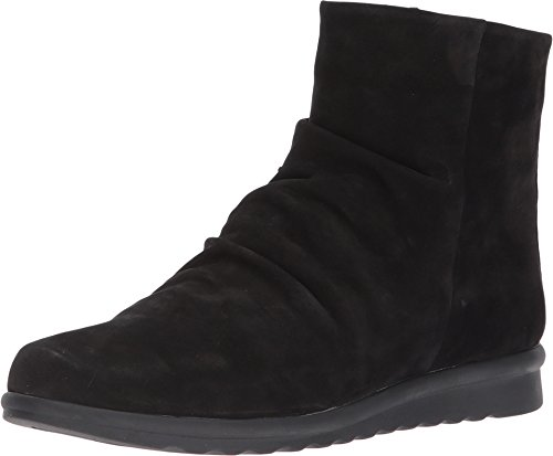 VANELi Women's Dollie Black Nabuck 11.5 2A(N) (Dolly Ankle Boot)
