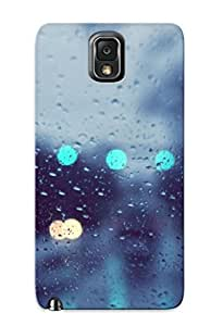 Chistmas' Gift - Cute Appearance Cover/tpu URGLTWq6100LQvXL Rainy Window Case For Galaxy Note 3 BY icecream design