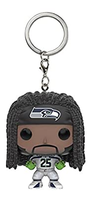 Funko POP Keychain: NFL - Richard Sherman Action Figure