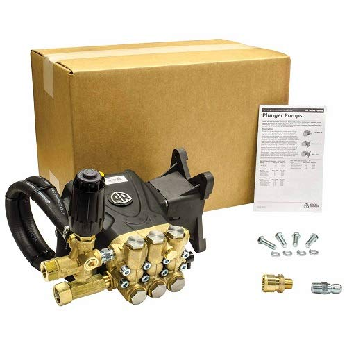 AR Annovi Reverberi RRV4G40-VRT-PKG High Pressure Washer Pump, Metalic