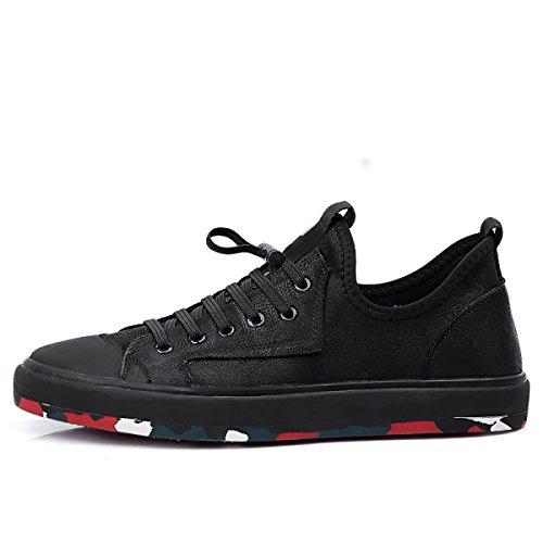 Décontractées Mode Confortables Gamme Black à La Skate De GRRONG Haut De Chaussures Chaussures vxPXO