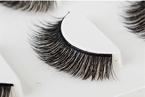Mink Lashes 3d Mink Eyelashes 100%Siberian Mink Lashes Natural Lashes For Daily Makeup Handmade Reusable False Lashes 3 Pairs