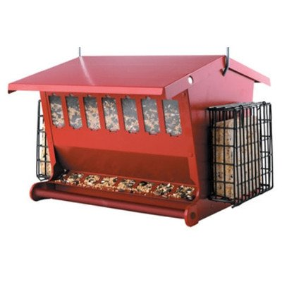 Heritage Farms Red Seeds N More Feeder by Wetsel