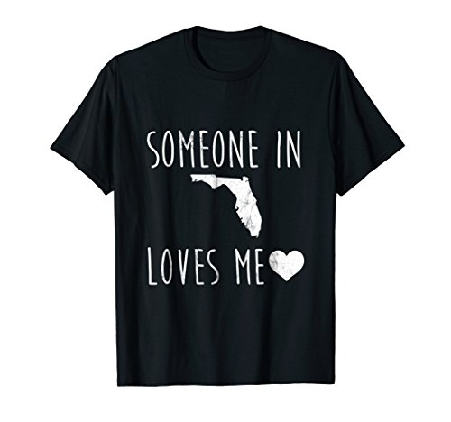 Someone in Florida Loves Me! TShirt Cute State Gift by Funny State of Origin Shirts (Image #2)