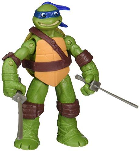 Teenage Mutant Ninja Turtles Eyes Pop Out Leonardo Action Figure (Ninja Turtles Toy)