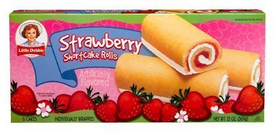 Little Debbie Strawberry Shortcake Rolls 13 Oz (8 Boxes) (Cake Layer Strawberry)