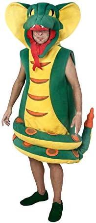 Disfraz de Serpiente Cobra para Adultos: Amazon.es: Juguetes y juegos