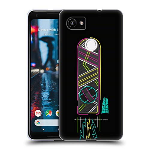 Official Back to The Future Hoverboard I Composed Art Soft Gel Case Compatible for Google Pixel 2 XL