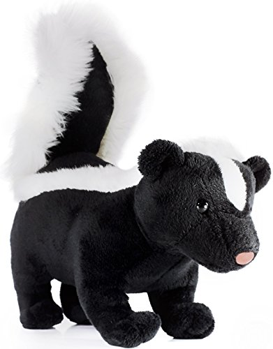 Seymour the Skunk | 9 Inch Long (Tail Measurement not Included!) Stuffed Animal Plush | By Tiger Tale (Stuffed Skunk)