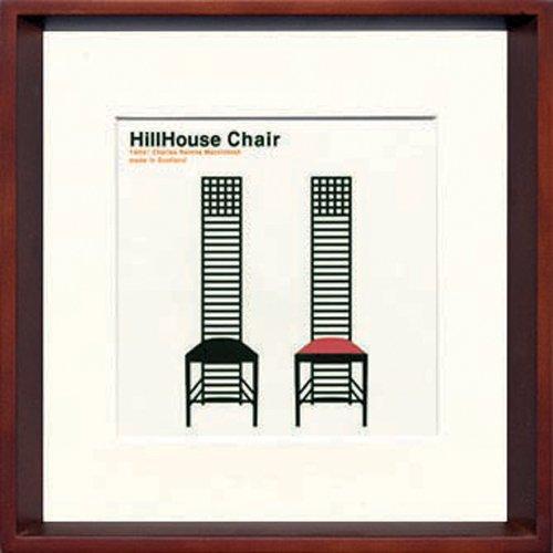 JIG アートポスター モダン デザインスタジオ HillHouse Chair ヒルハウス ITY-14050 B00P7BHNX4