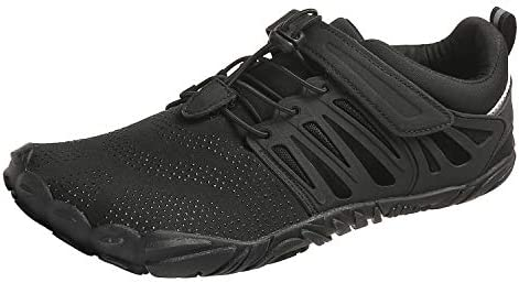 PAGCURSU Men s Minimalist Trail Running Barefoot Shoes Wide Toe Box
