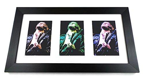 Kings Of Leon Limited Edition Framed Triple Art Print ()