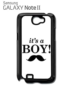 It is a Boy New Baby Maternity Mobile Cell Phone Case Samsung Note 2 White