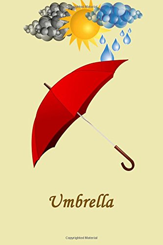 Umbrella: Lined Notebook, 6 x 9 inches, Cream paper, 100 pages(50 sheets), Soft Cover. pdf