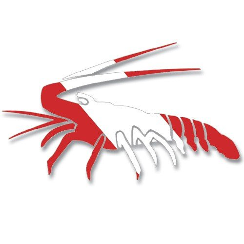 Lobster Decal (New Diver Down Flag Die Cut Sticker Decal for Your Boat, Tanks or Auto - Lobster (6-1/8