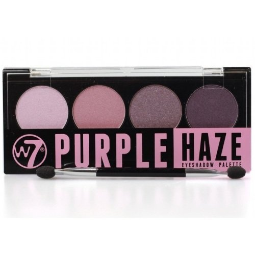 W7 Quad Eyeshadow Palette Purple Haze