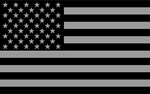 Subdued Flag Reflective Decal x2 5