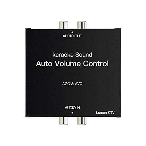 LEMONKTV Auto Volume Control Device, Auto Gain Control Device for Karaoke Machine, Media Player