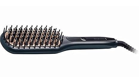 Remington 45580560100 Straightening brush Negro 1.8m Utensilio de peinado - Moldeador de pelo (Cepillo