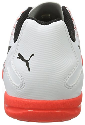 Hommes Puma corail ardent De Blanc Chaussures Football Adreno It Blanc Pour Iii noir wrzqwHW0