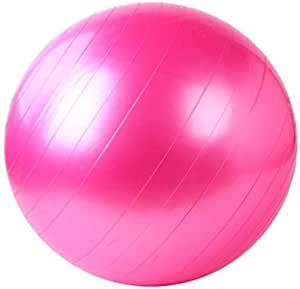 cBalance Stability Pilates Ball for Yoga Fitness Exercise With Air Pump 65cm